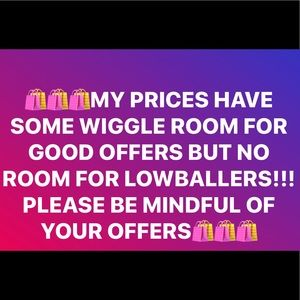 Other - MY ITEMS ARE PRICED VERY REASONABLY SO NO LOWBALLS